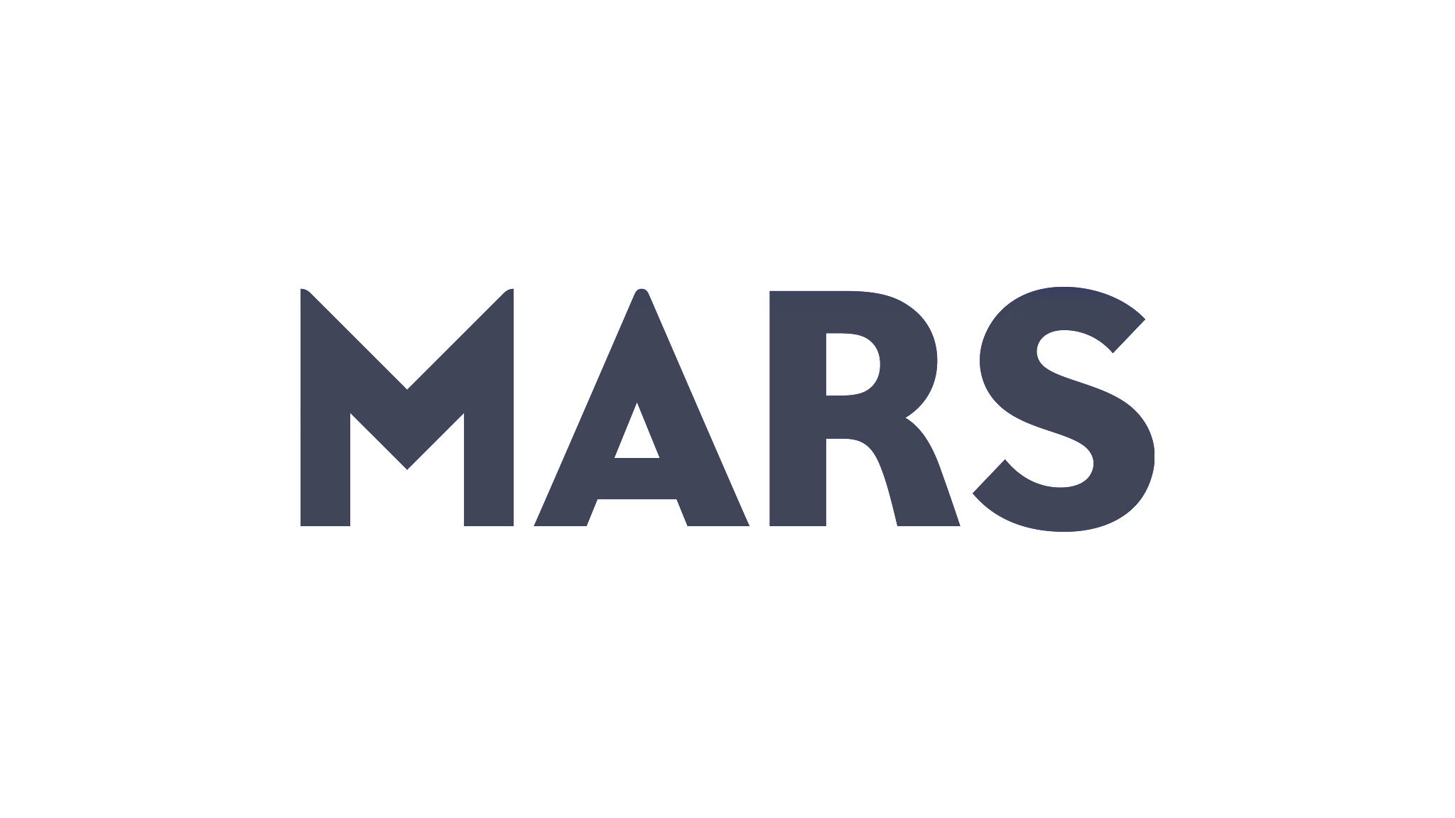 mars logo grey