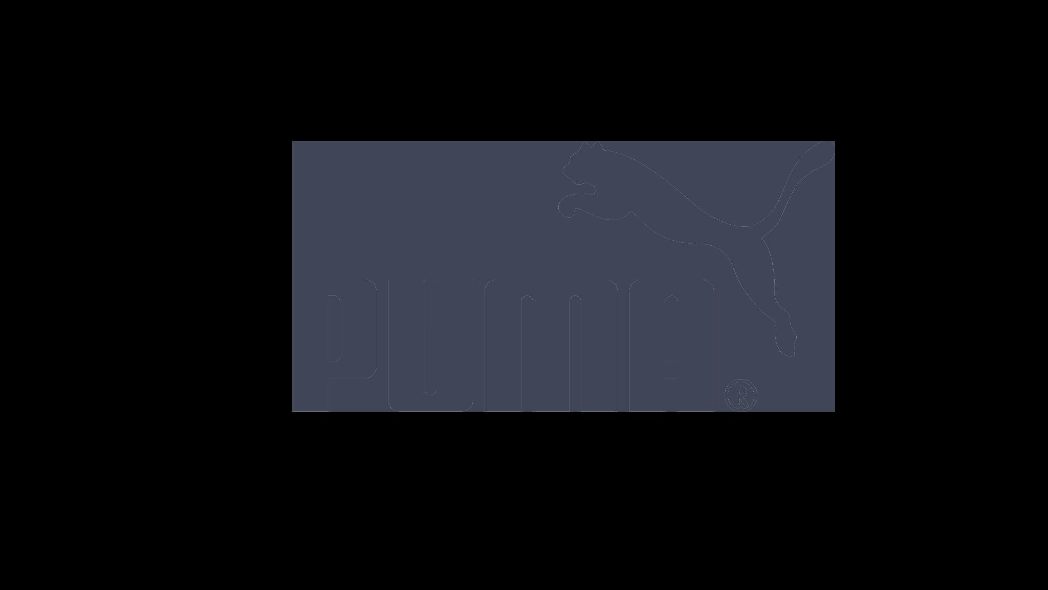 puma logo pgrey